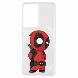 Чохол для Samsung S21 Ultra Little Deadpool