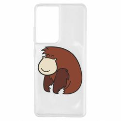 Чехол для Samsung S21 Ultra Little monkey