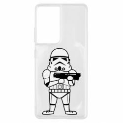 Чохол для Samsung S21 Ultra Little Stormtrooper