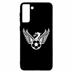 Чохол для Samsung S21 Ultra Liverpool and soccer ball