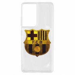 Чохол для Samsung S21 Ultra Логотип Барселони