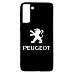 Чехол для Samsung S21 Ultra Логотип Peugeot