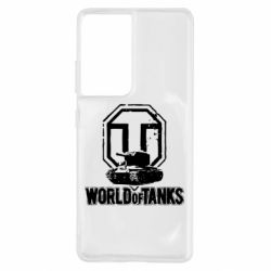 Чохол для Samsung S21 Ultra Логотип World Of Tanks
