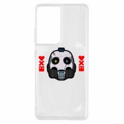 Чехол для Samsung S21 Ultra Love death and robots
