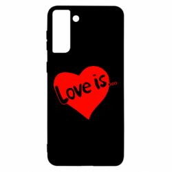 Чохол для Samsung S21 Ultra любов-це...