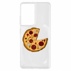 Чохол для Samsung S21 Ultra Love Pizza