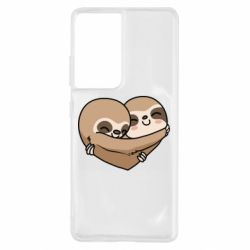 Чохол для Samsung S21 Ultra Love sloths