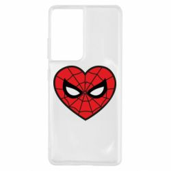 Чохол для Samsung S21 Ultra Love spider man