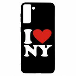 Чохол для Samsung S21 Ultra Люблю Нью Йорк