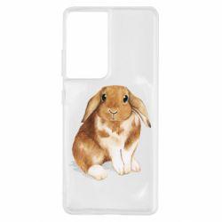 Чохол для Samsung S21 Ultra Маленький кролик
