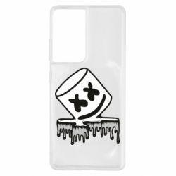 Чохол для Samsung S21 Ultra Marshmallow melts