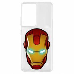 Чехол для Samsung S21 Ultra Маскаа Железного Человека
