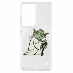 Чехол для Samsung S21 Ultra Master Yoda