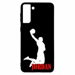 Чохол для Samsung S21 Ultra Майкл Джордан