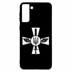 Чехол для Samsung S21 Ultra Меч, крила та герб