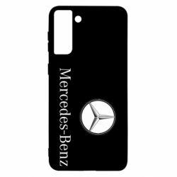 Чехол для Samsung S21 Ultra Mercedes-Benz Logo