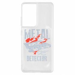 Чохол для Samsung S21 Ultra Metal detector