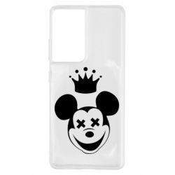 Чехол для Samsung S21 Ultra Mickey Mouse Swag