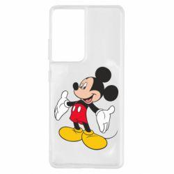 Чохол для Samsung S21 Ultra Mickey Mouse