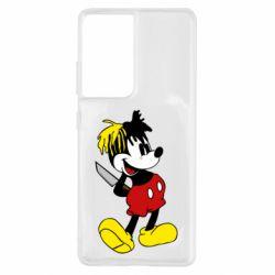 Чохол для Samsung S21 Ultra Mickey XXXTENTACION