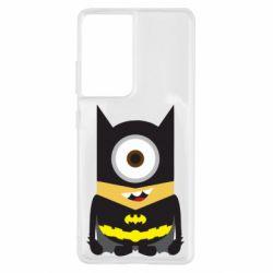 Чохол для Samsung S21 Ultra Minion Batman