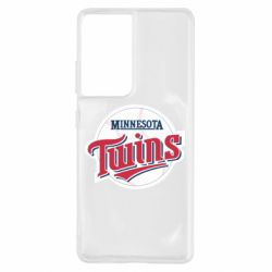 Чохол для Samsung S21 Ultra Minnesota Twins