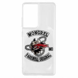 Чохол для Samsung S21 Ultra Mongrel MC