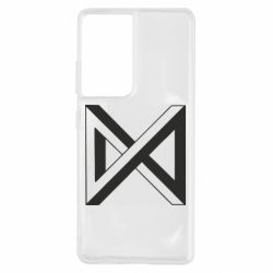 Чохол для Samsung S21 Ultra Monsta x simbol