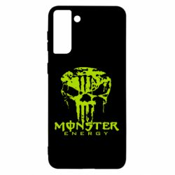 Чохол для Samsung S21 Ultra Monster Energy Череп