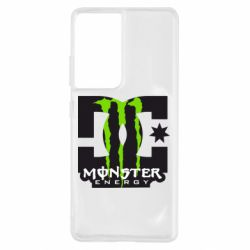 Чохол для Samsung S21 Ultra Monster Energy DC