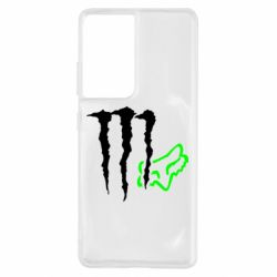 Чохол для Samsung S21 Ultra Monster Energy FoX