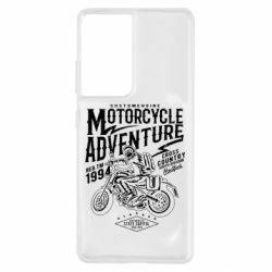 Чехол для Samsung S21 Ultra Motorcycle Adventure