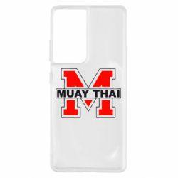 Чохол для Samsung S21 Ultra Muay Thai Big M