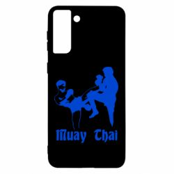 Чохол для Samsung S21 Ultra Muay Thai Fighters