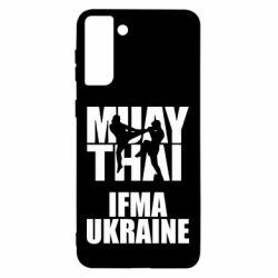 Чехол для Samsung S21 Ultra Muay Thai IFMA Ukraine