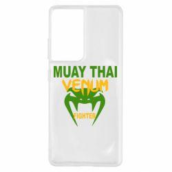 Чохол для Samsung S21 Ultra Muay Thai Venum Боєць