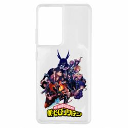 Чохол для Samsung S21 Ultra My Hero Academia