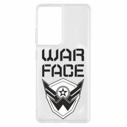 Чохол для Samsung S21 Ultra Напис Warface