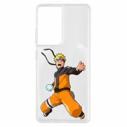 Чохол для Samsung S21 Ultra Naruto rasengan