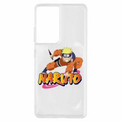 Чохол для Samsung S21 Ultra Naruto with logo