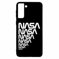 Чехол для Samsung S21 Ultra NASA