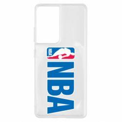 Чехол для Samsung S21 Ultra NBA Logo
