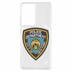 Чехол для Samsung S21 Ultra New York Police Department