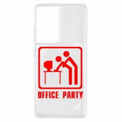 Чохол для Samsung S21 Ultra Office Party