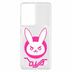 Чехол для Samsung S21 Ultra Overwatch dva rabbit