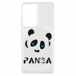 Чохол для Samsung S21 Ultra Panda blue eyes