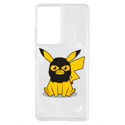 Чохол для Samsung S21 Ultra Pikachu in balaclava