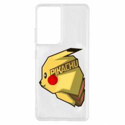Чохол для Samsung S21 Ultra Pikachu
