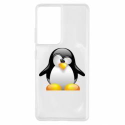 Чохол для Samsung S21 Ultra Пінгвін