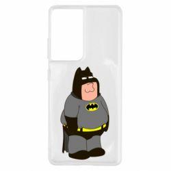 Чохол для Samsung S21 Ultra Пітер Гріффін Бетмен